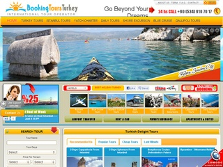 Booking Tours Turkey