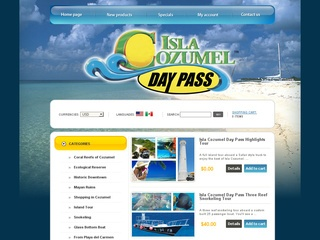 Isla Cozumel Day Pass