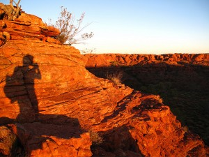 Sunset over Watarrka