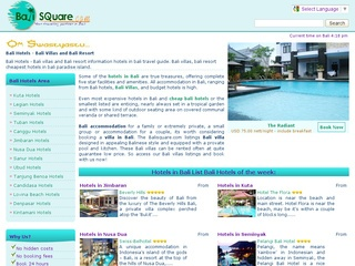 Bali Hotels – Hotels in Bali information bali hotel villa and resort.