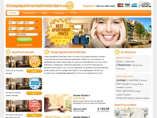 cheap apartments Amsterdam