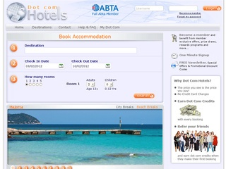 Dot Com Hotels – Book discount hotels and apartments