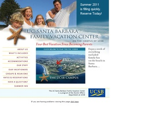 U.C. Santa Barbara Family Vacation Center