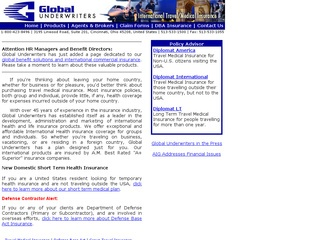 Global Underwriters Agency, Inc.