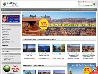Vacation Deals at Go2Travel365.com