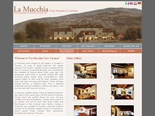 La Mucchia vacation accommodation in Tuscany