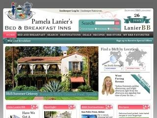Pamela Lanier's Bed and Breakfast Guide Online