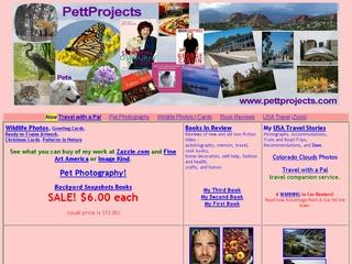 Travel Pages at PettProjects
