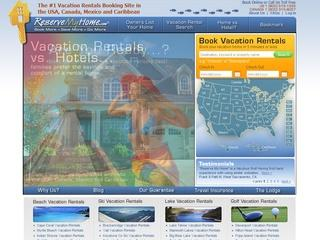 ReserveMyHome – A stong and compelling case for the vacation rentals website award.