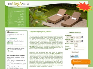 Villas in Umalas | The Uma Villas in Bali