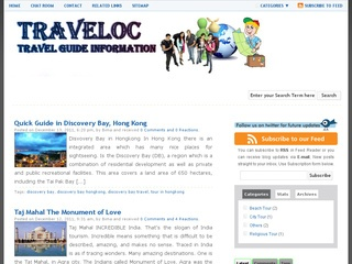 Traveloc – Travel Guide Information