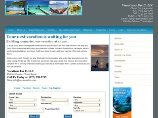 Vacations For u LLC