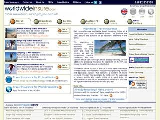 Worldwide Travel Insurance Services